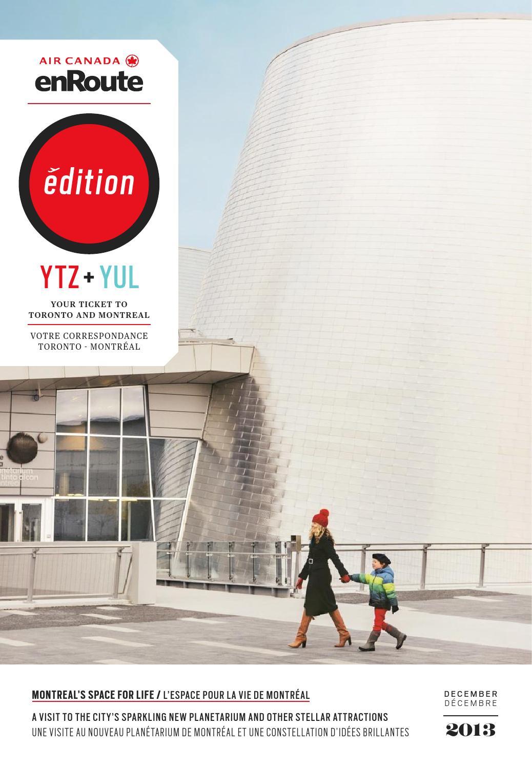 La Poste Le Poiré Sur Vie air canada enroute édition ytz + yul — december / décembre