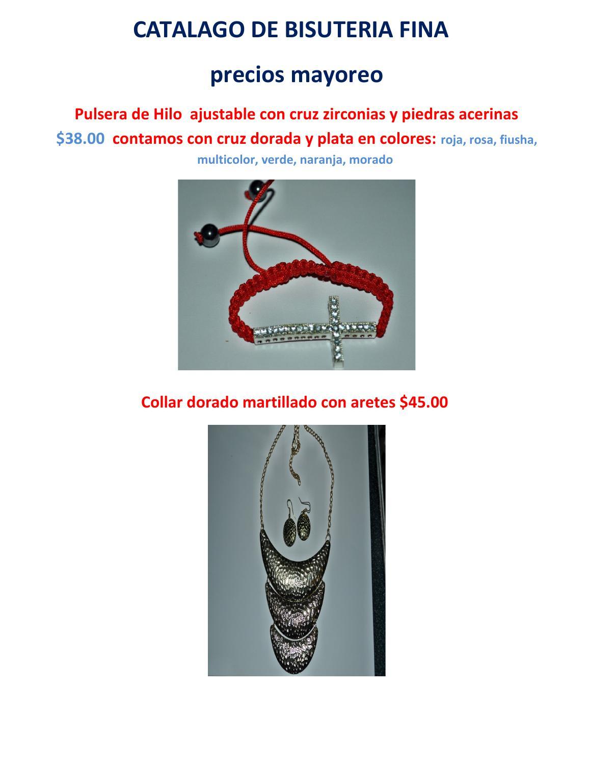 19375f345ad4 Catalago de bisuteria fina y lamina chapa de oro by ely ignacio - issuu