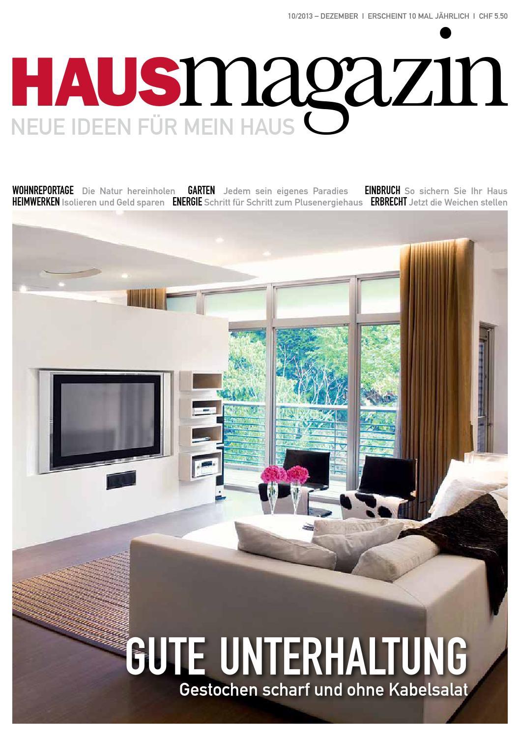 Hausmagazin Dezember 2013 by HAUS MAGAZIN - issuu