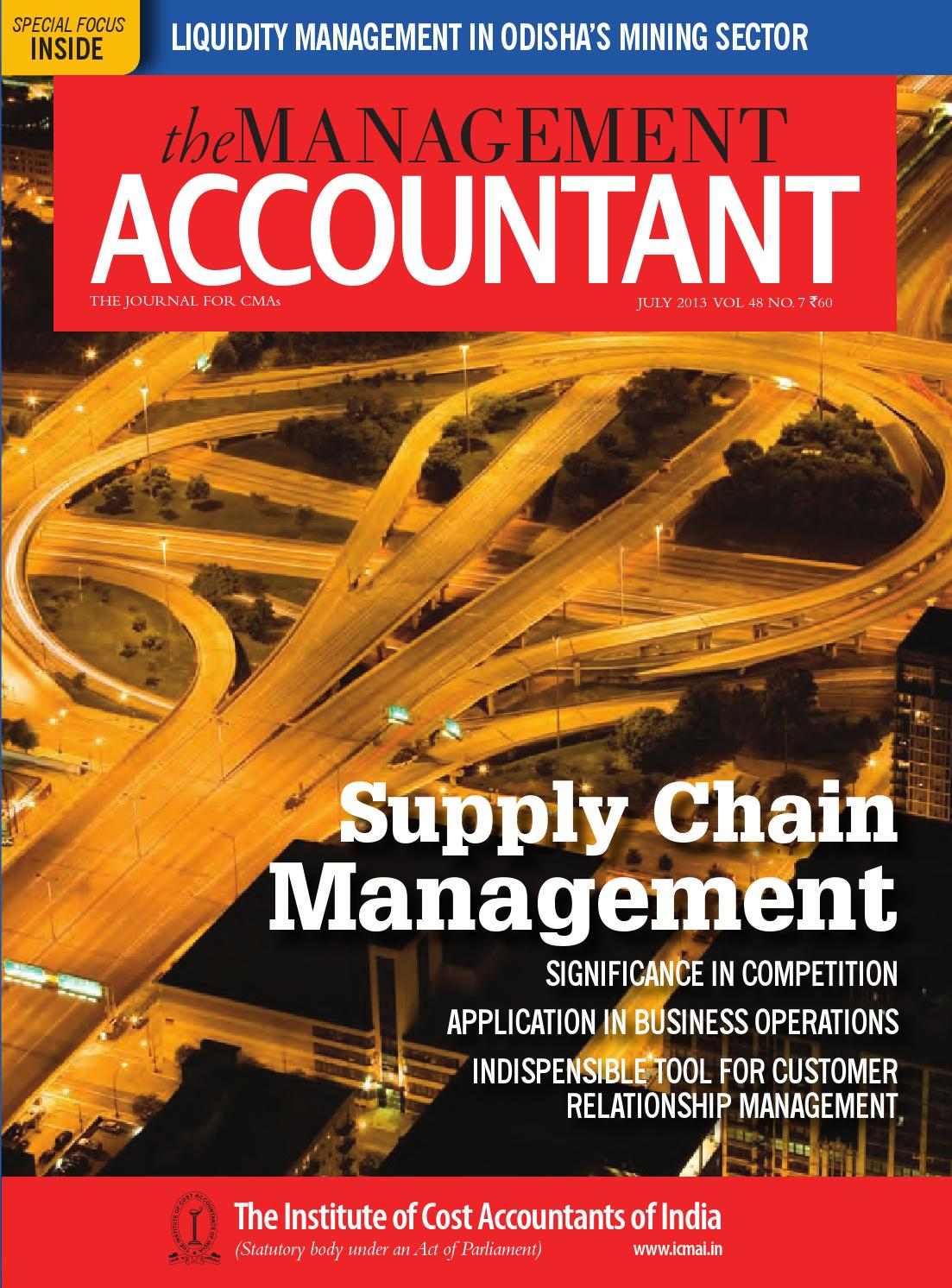 2b5ba1fd70c921 The Management Accountant July 2013 by THE MANAGEMENT ACCOUNTANT - issuu