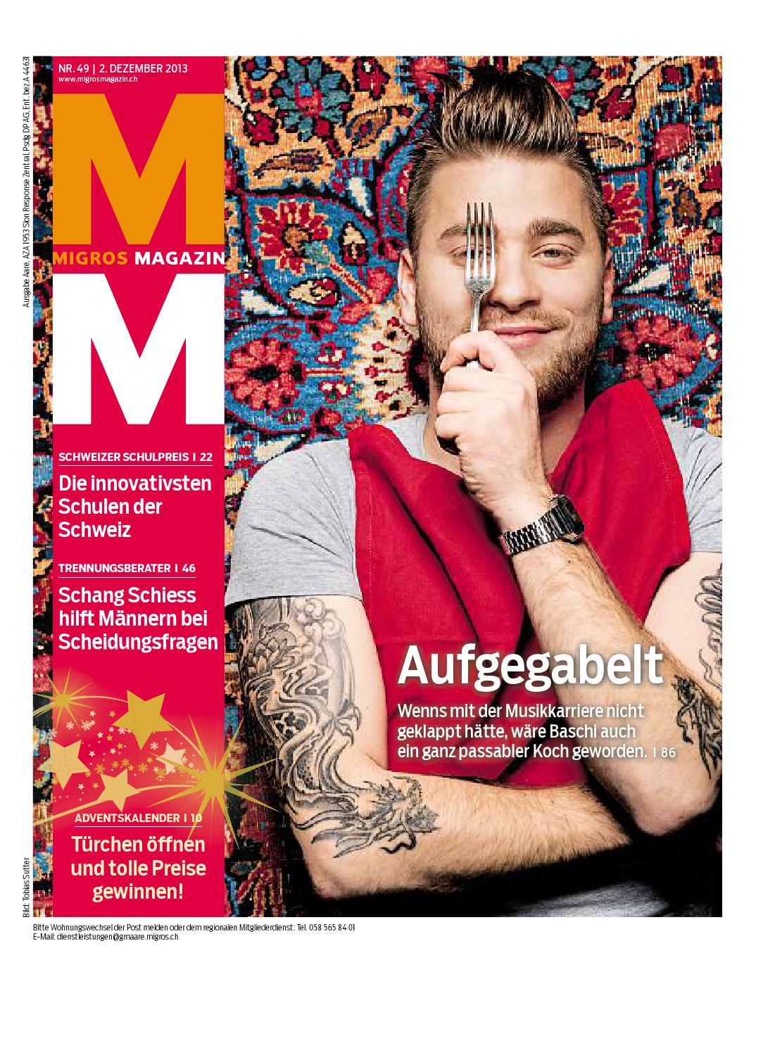 Migros magazin 49 2013 d aa by Migros-Genossenschafts-Bund - issuu