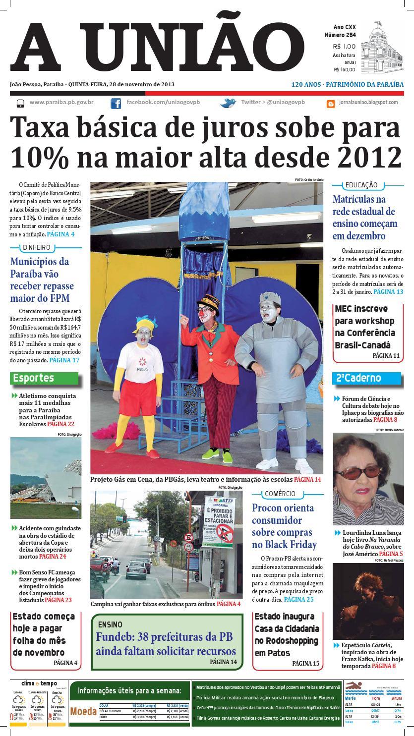 Jornal A União by Jornal A União - issuu 4ca9556e96