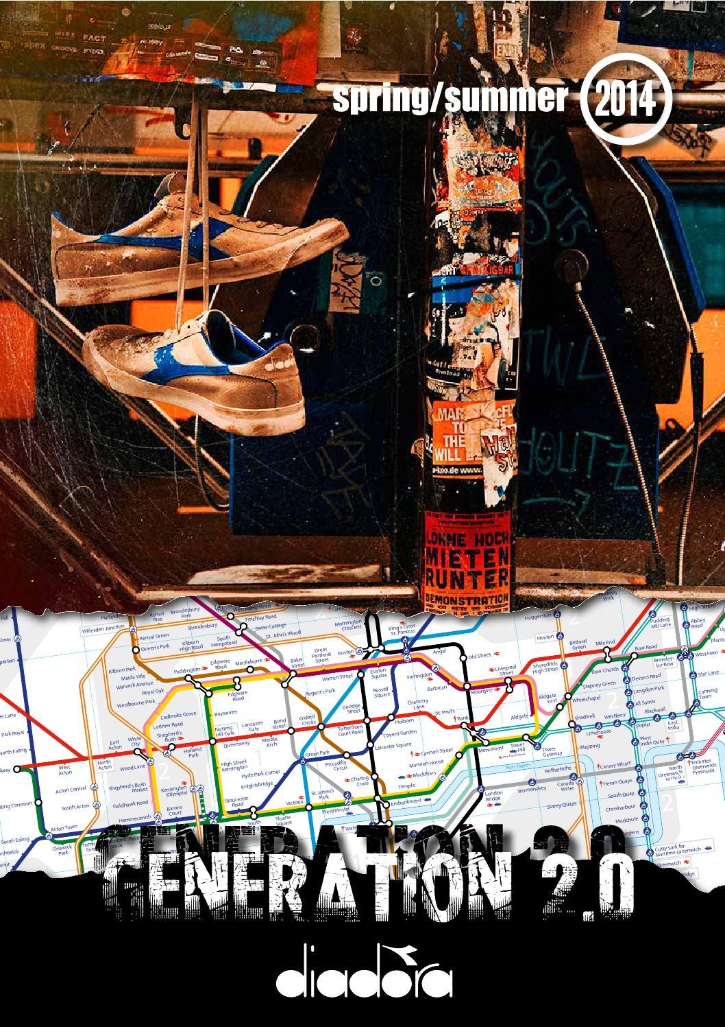 Look book diadora generation 2 0 ss14 by Asap Communication