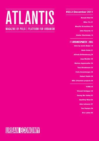 Atlantis 223 Urban Economy By Atlantis Issuu