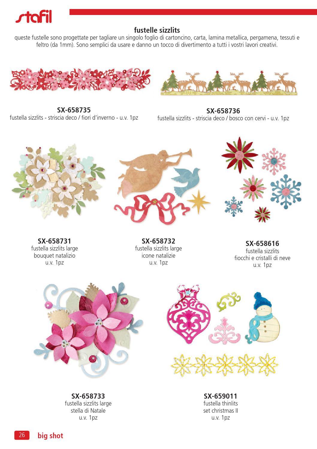 Stella Di Natale Big Shot.Nuovo Catalogo Big Shot Sizzix Da Delart Colori By Seed Mediaagency