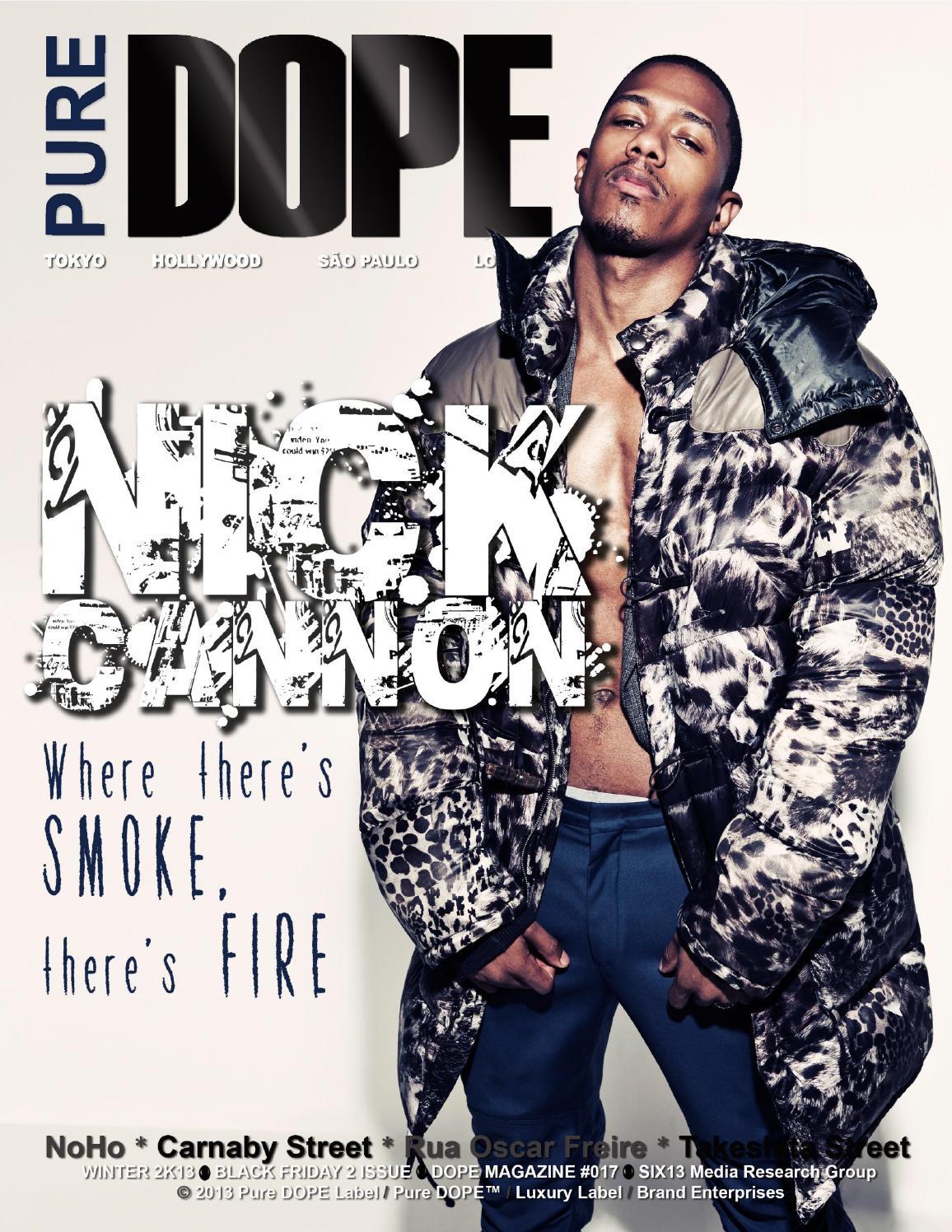 41da1109bd1f Pure DOPE Magazine - Winter 2k13 - Black Friday 2 Issue by Pure DOPE ...