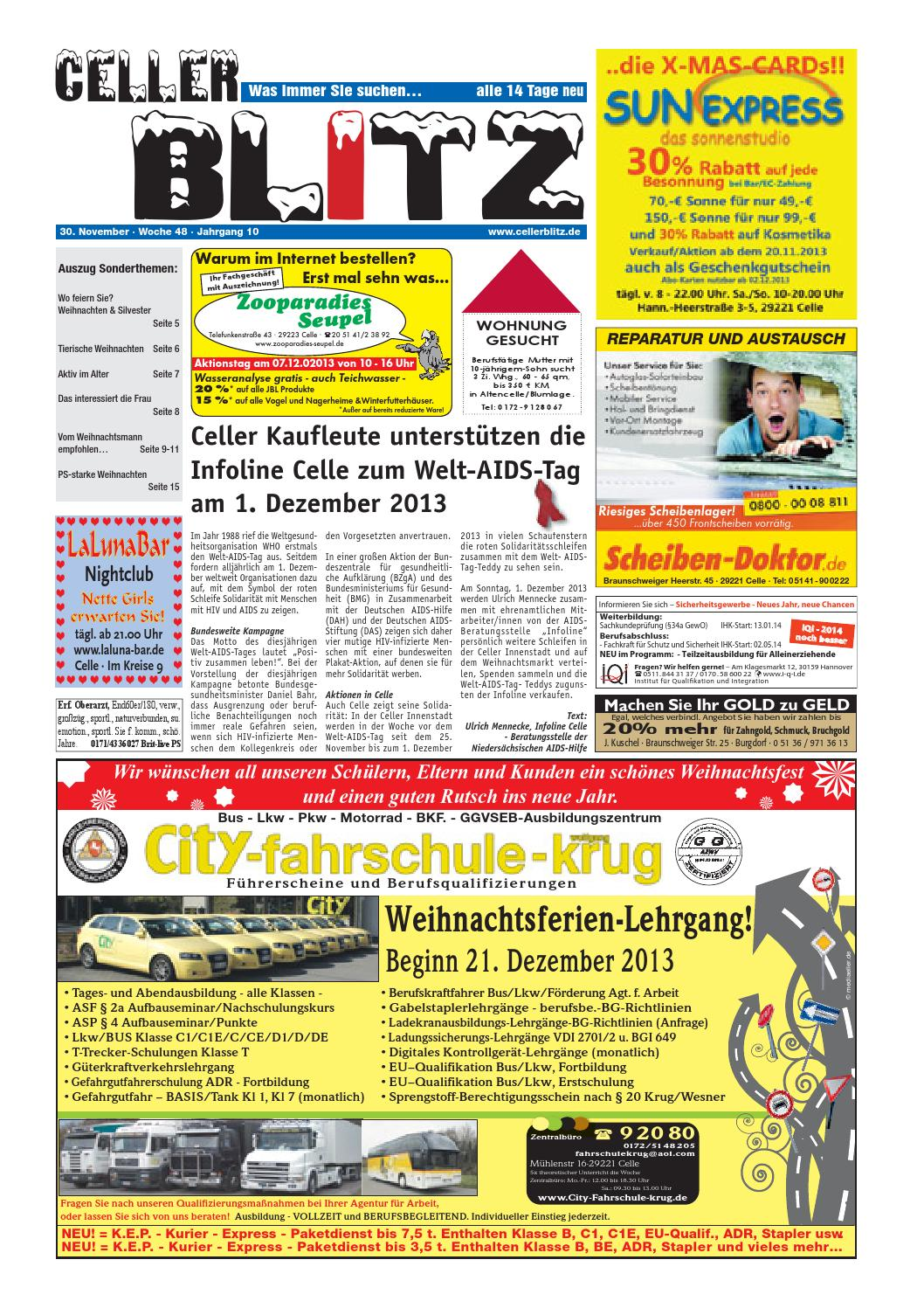 6e63cbbc4db3c9 Celler Blitz 48 KW by mvc Medien - issuu
