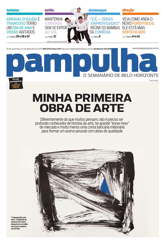 Pampulha - Sáb, 30 11 2013 by Tecnologia Sempre Editora - issuu 968ed906bf