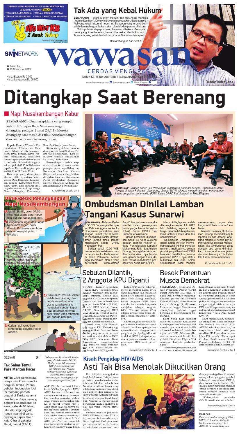 Wawasan 30 Nopember 2013 By Koran Pagi Issuu Produk Ukm Bumn Kain Batik Middle Premium 3 Bendera 01