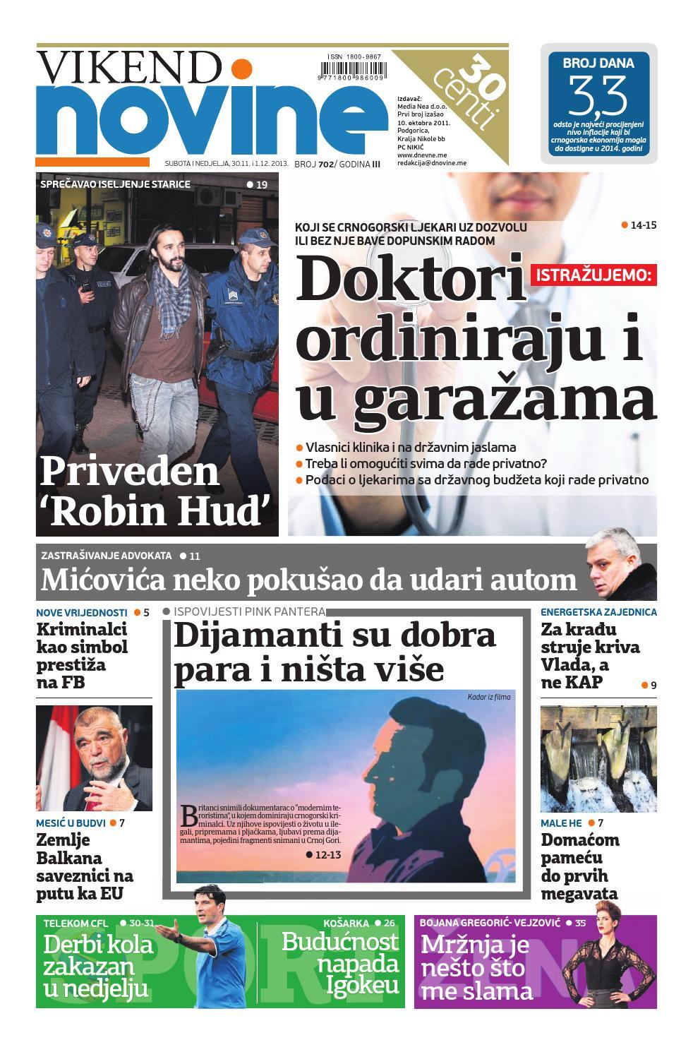 Izdanje 3011 0112 2013 By Dnevne Novine Issuu