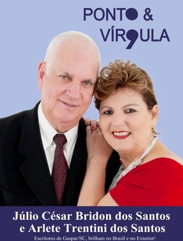 """Cover of """"Revista Ponto & Vírgula - Ano 1 - Edição 10 - Outubro 2013"""""""