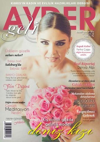 Ayder Gelin Sayı 12 - N.Cyprus Wedding Magazine by ACM I
