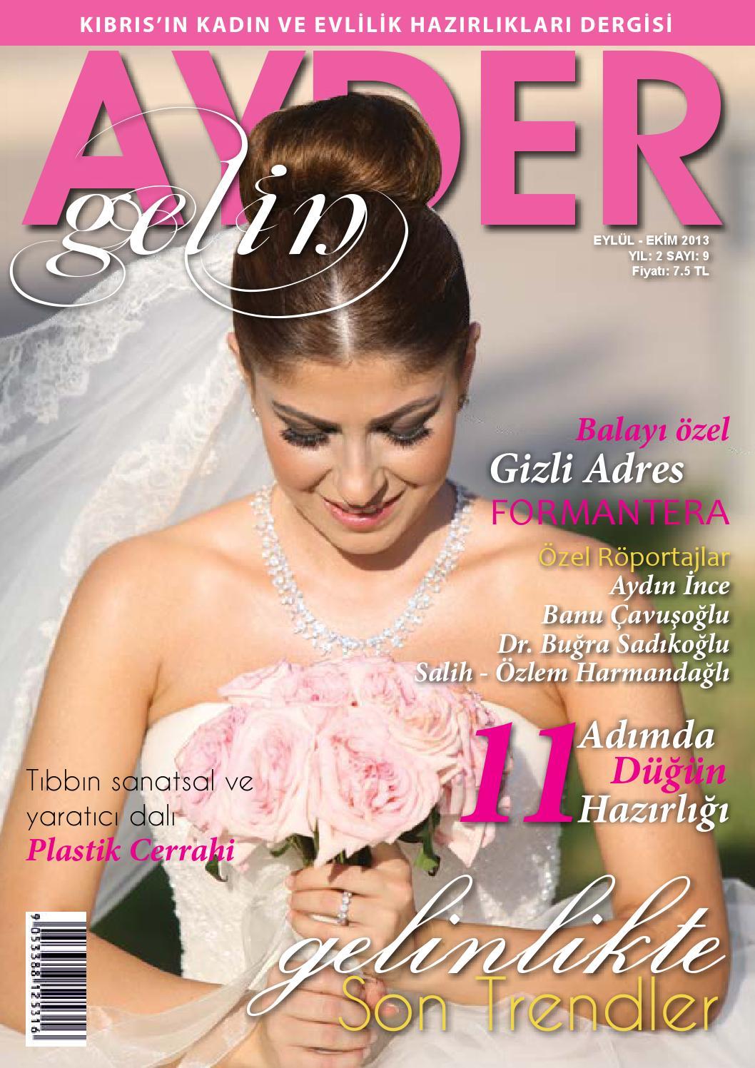 Ayder Gelin Sayı 21 - N.Cyprus Wedding Magazine by ACM I