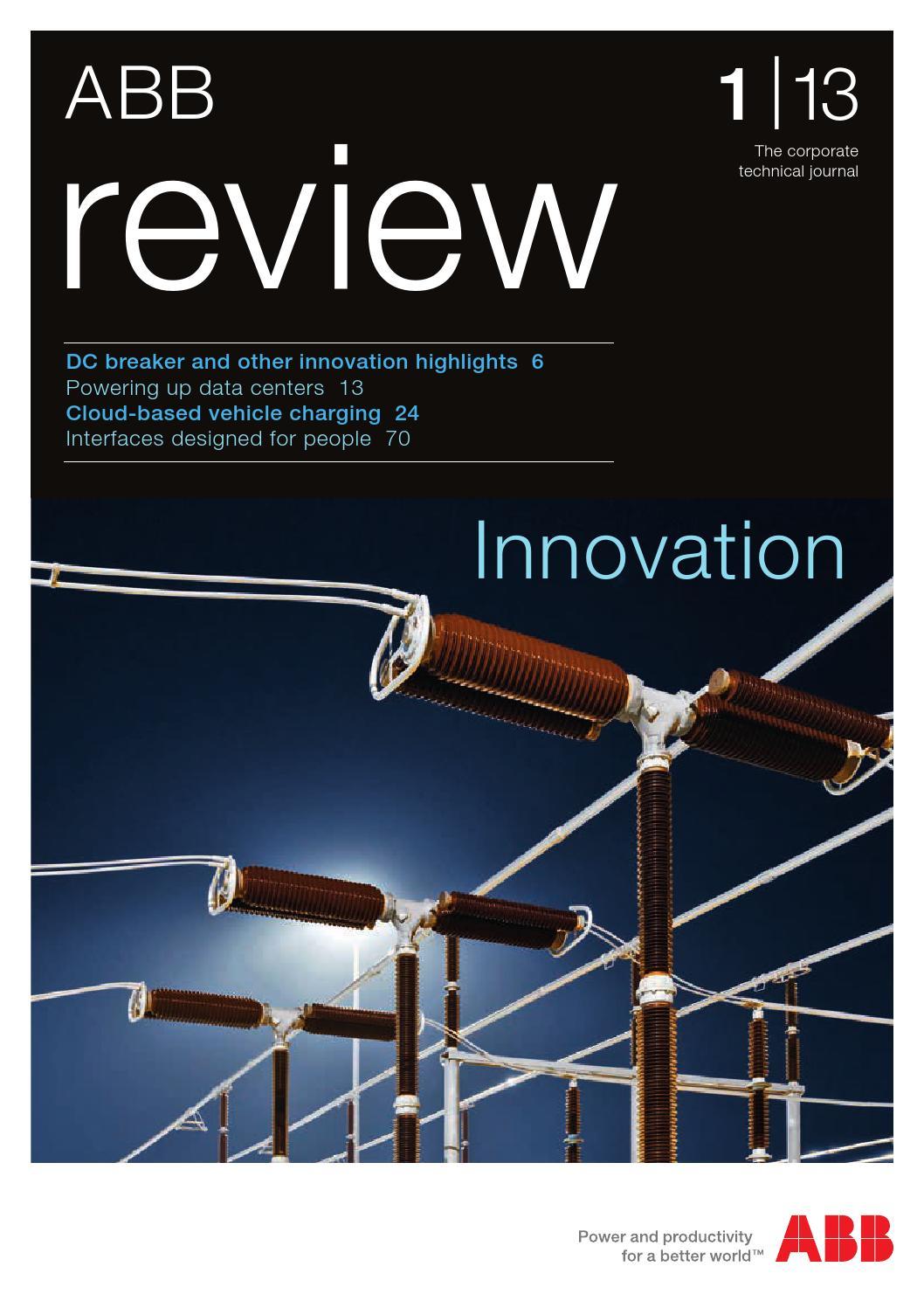 ABB review technical journal - ABB Group