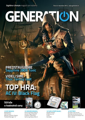 c5e2ba3d22c3 Generation magazín  024 by Generation magazine - issuu