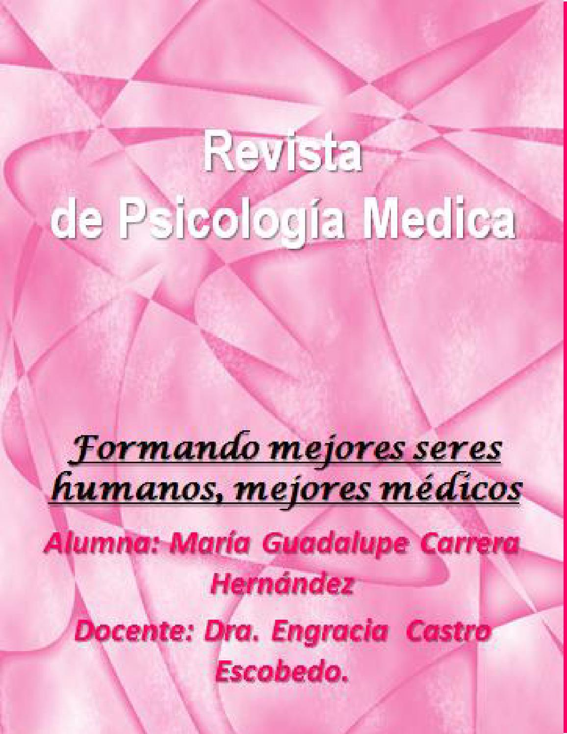 María guadalupe carrera hernández by Psico Med - issuu