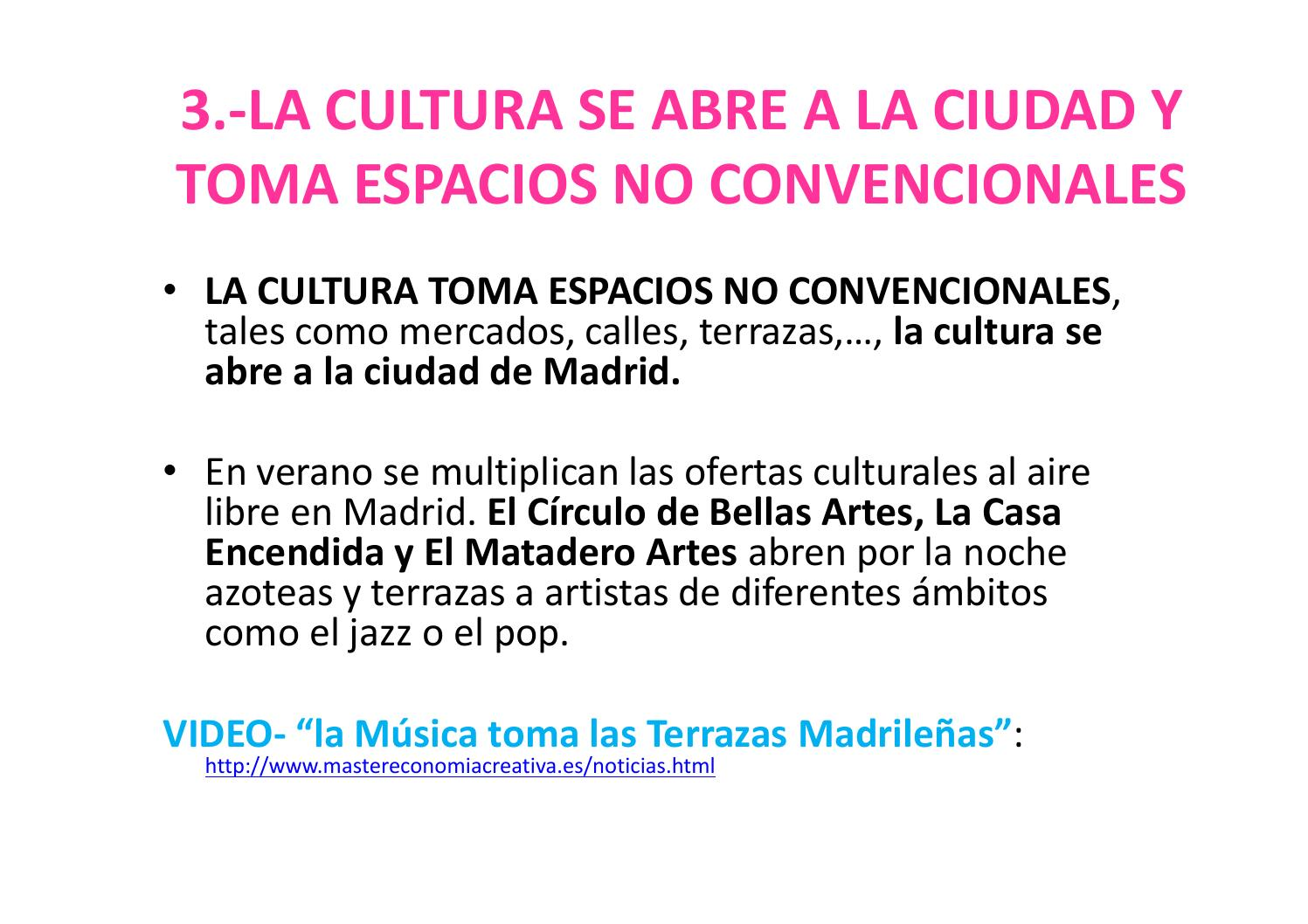 Madrid Creativo Centroperiferia Máster Festival In Lisboa