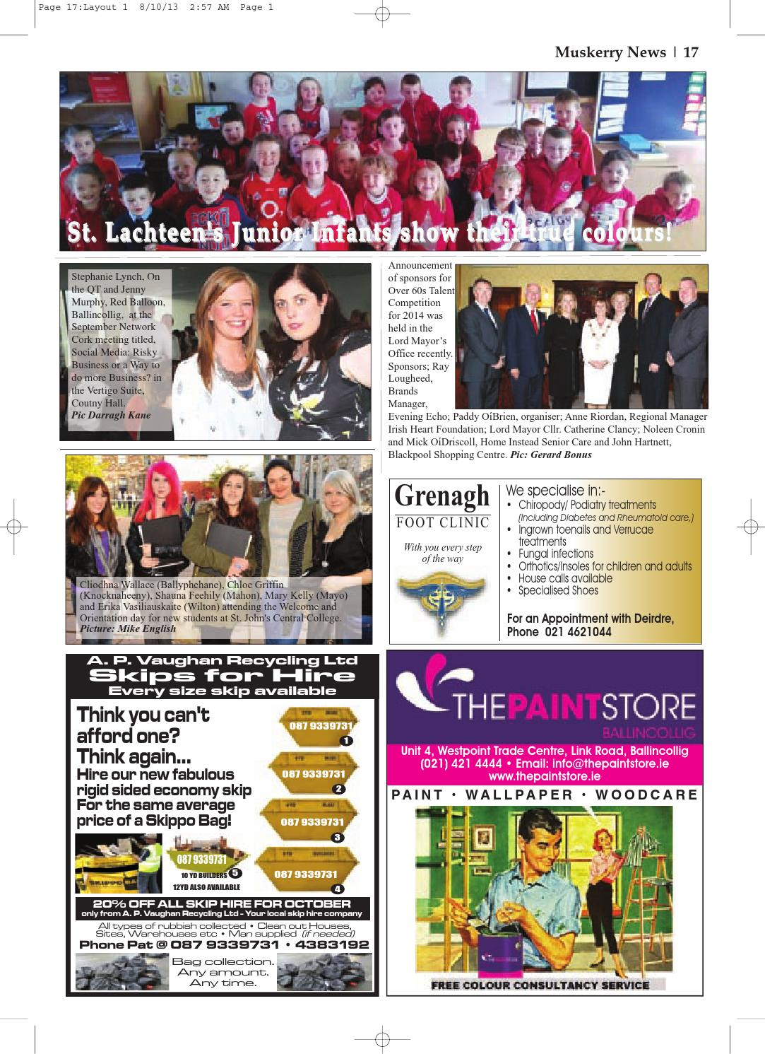 Muskerry news october 2013 by Muskerry News - issuu