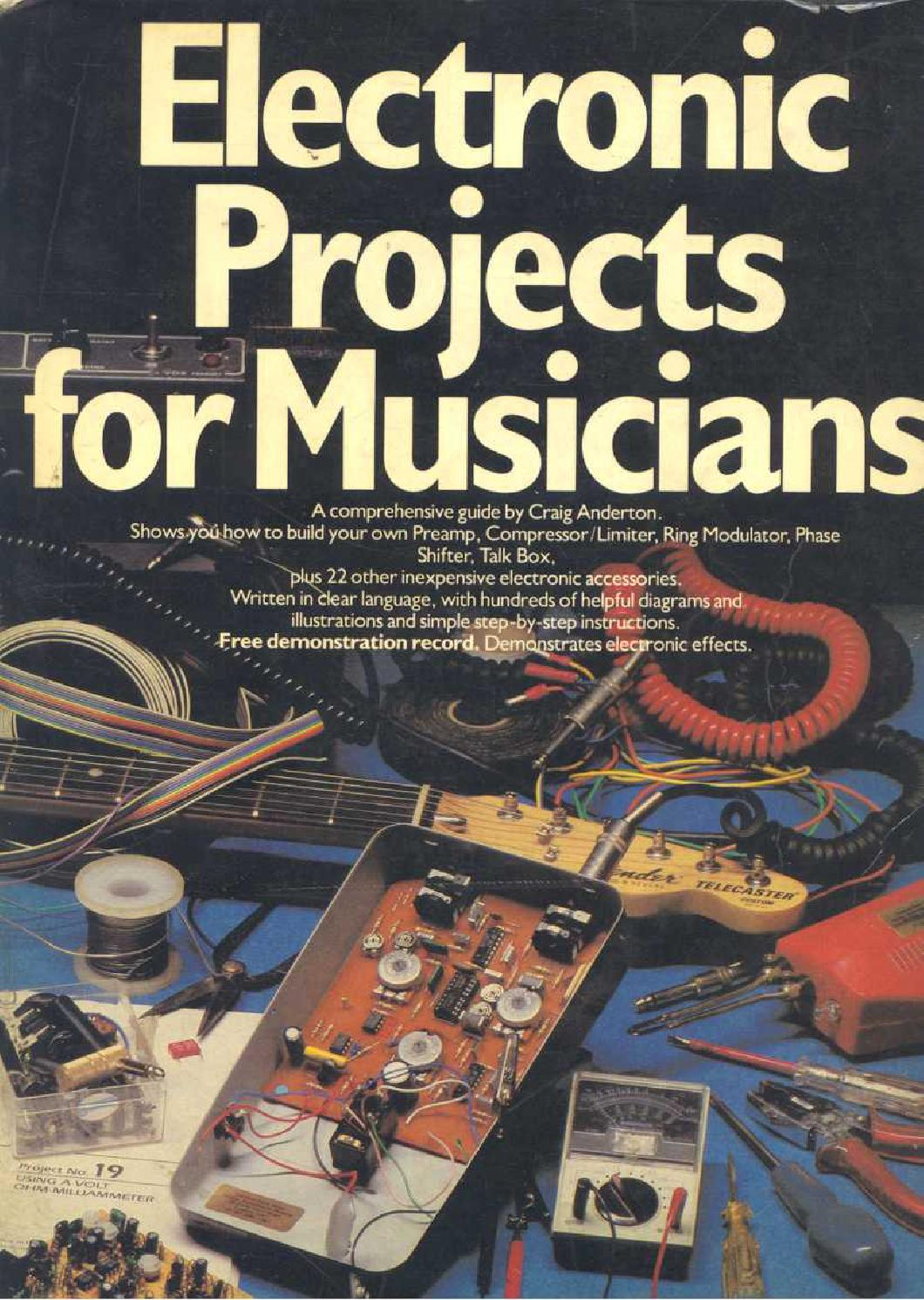 Electronic Projects For Musicians Craig Anderton By Alan Rab Issuu Fridge Door Alarm Circuit P Marian Alarms Photoresistors
