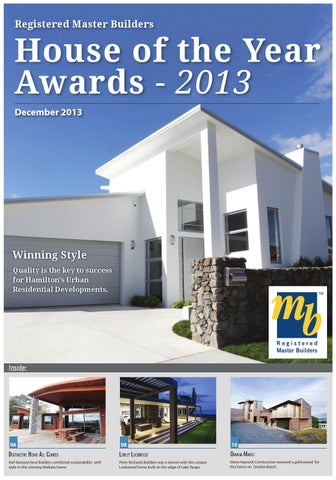 registered master builders house of the year award by waterford