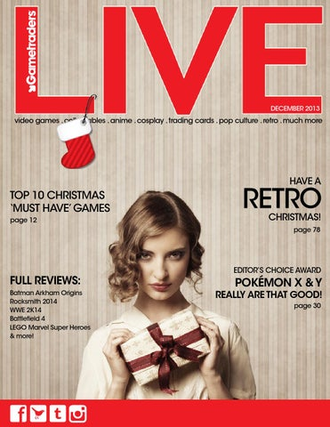 c82b7a68a9370 December LIVE Magazine by Gametraders - Publishing - issuu