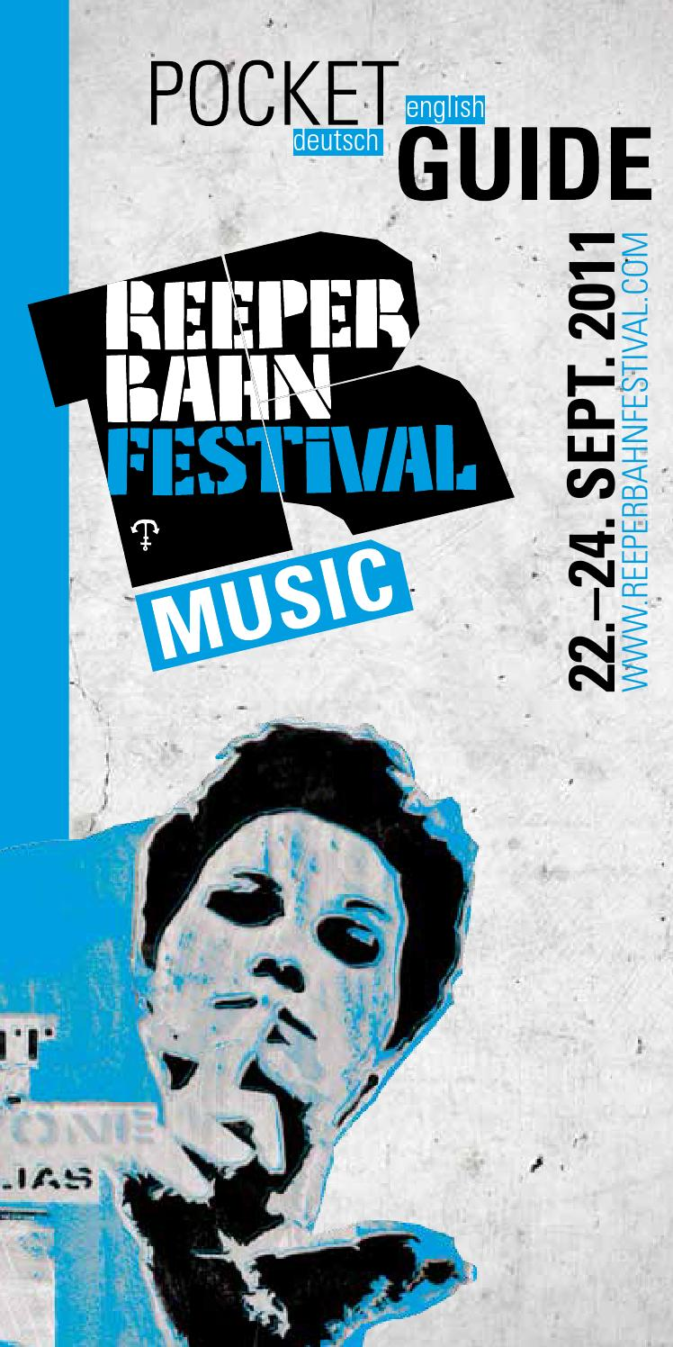 Reeperbahn Festival Pocket Guide 2011 By Tach Projectdesign