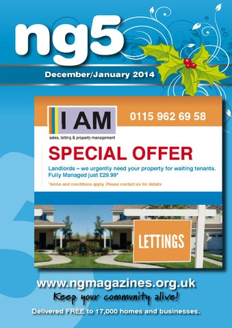 Ng5 arnold december january 2014 by ali wale issuu page 1 fandeluxe Gallery