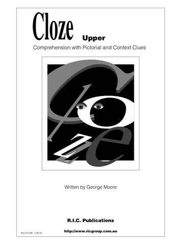 Cloze: Ages 10-12 by Teacher Superstore - issuu