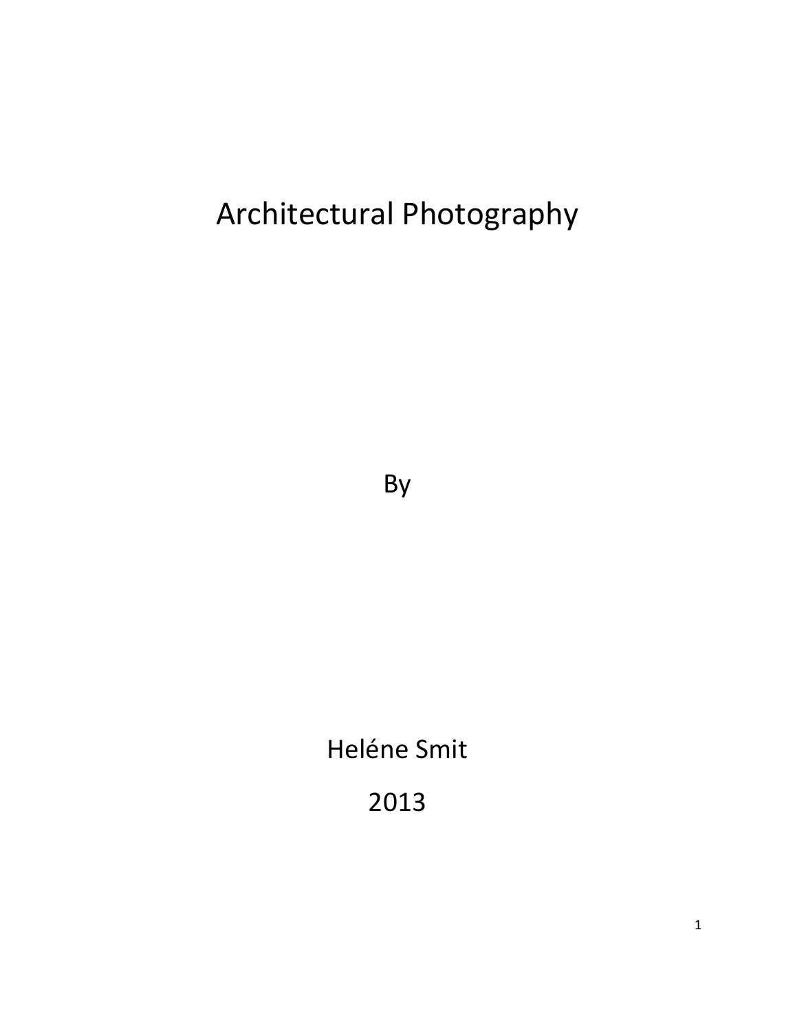 Fine Architecture Photography Dissertation Classics Oak Ridge To