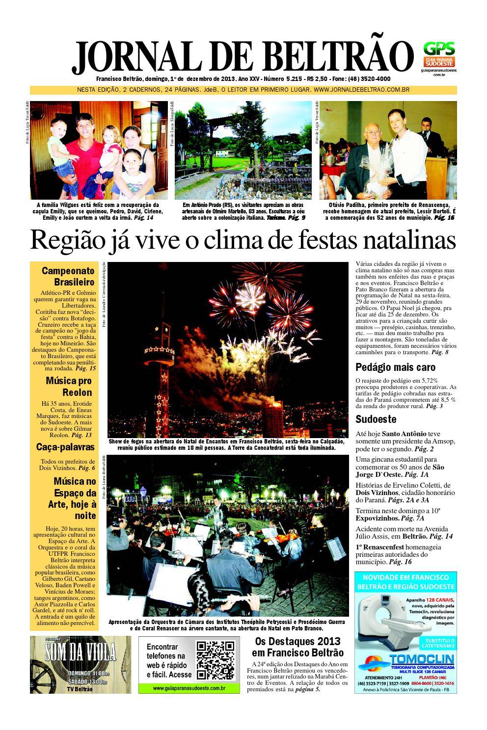 4a68752242 Jornaldebeltra 5215 1-12-2013.pdf by Orangotoe - issuu