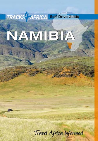 Tracks4Africa Namibia Self Drive Guide by SA Media Services - issuu