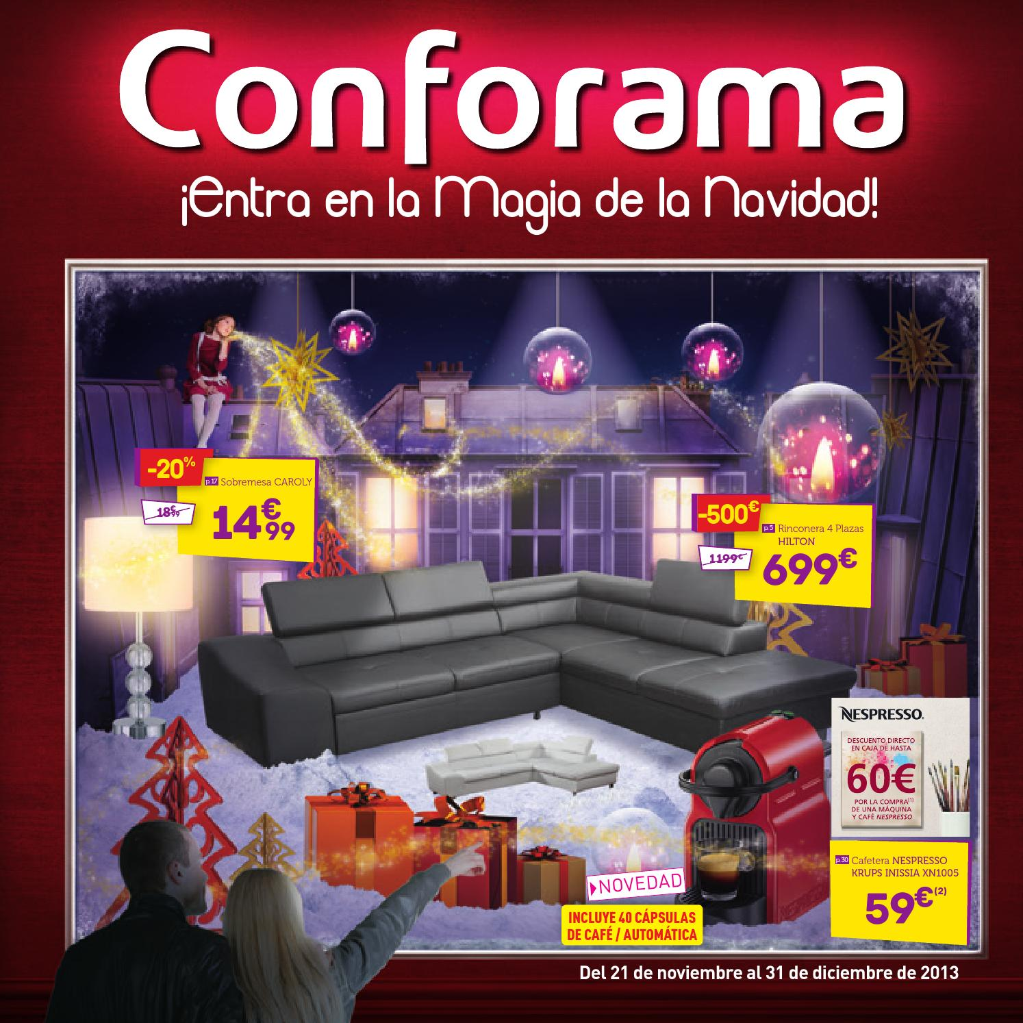 Muebles Conforama Catalogo Navidad 2013 2014 By Milyuncatalogos Com