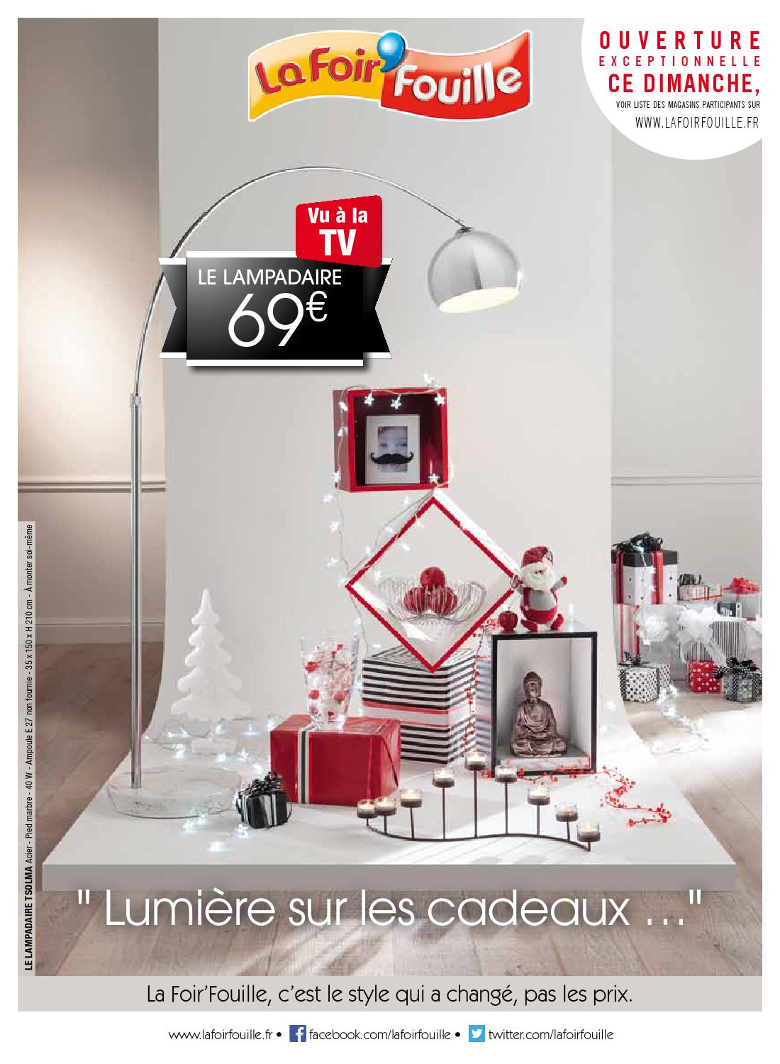 catalogue la foir fouille lumi re sur les cadeaux by joe. Black Bedroom Furniture Sets. Home Design Ideas