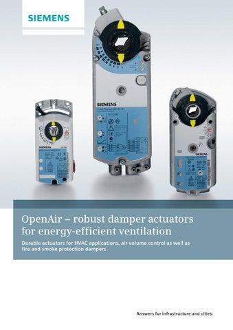 fe14ad2b5de Siemens õhuklapiajamite tutvustus