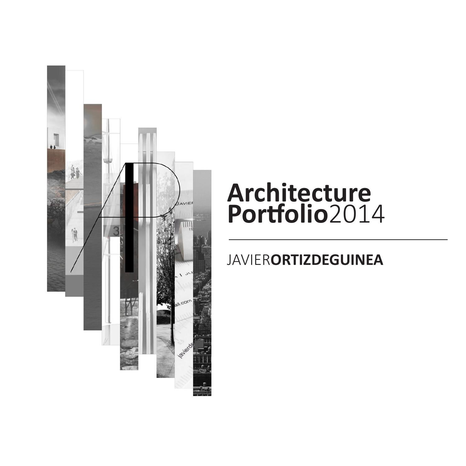 Gallery of The Best Architecture Portfolio Designs - 2
