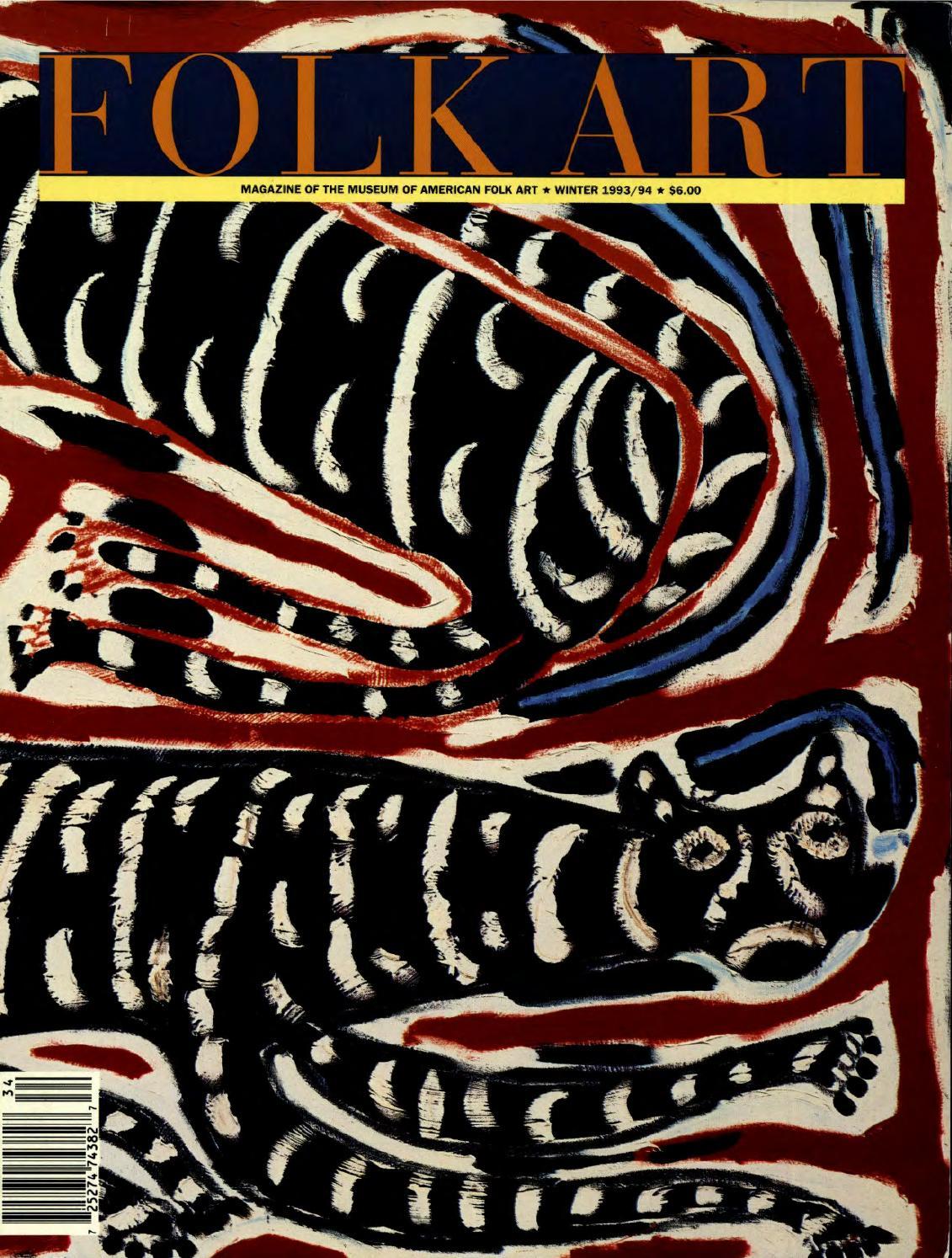 folk art (winter 1993/1994) by american folk art museum - issuu