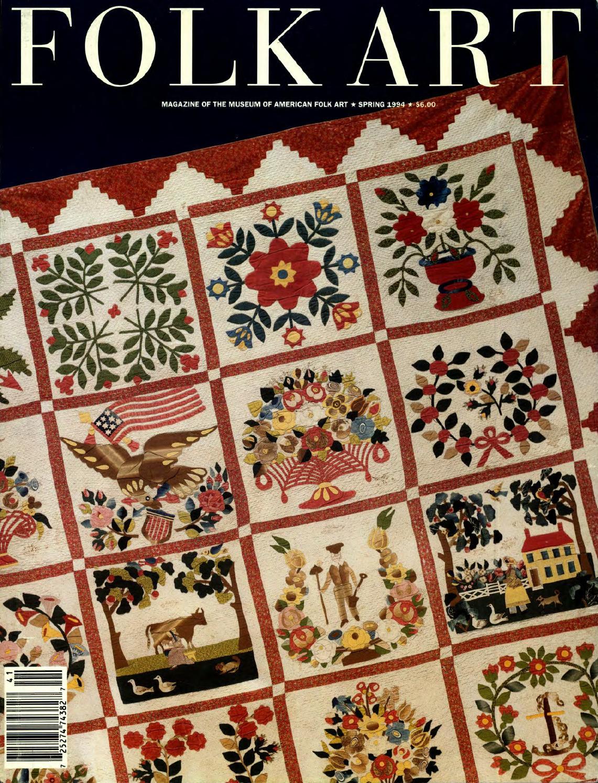 Folk Art Spring 1994 by American
