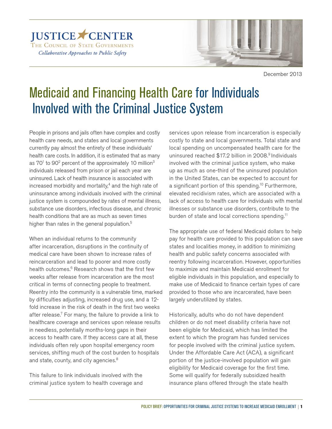 policies of two components of the criminal justice system Implications of criminal justice system  the specific ways in which the variety of sentencing policies  various components or stages of the criminal.