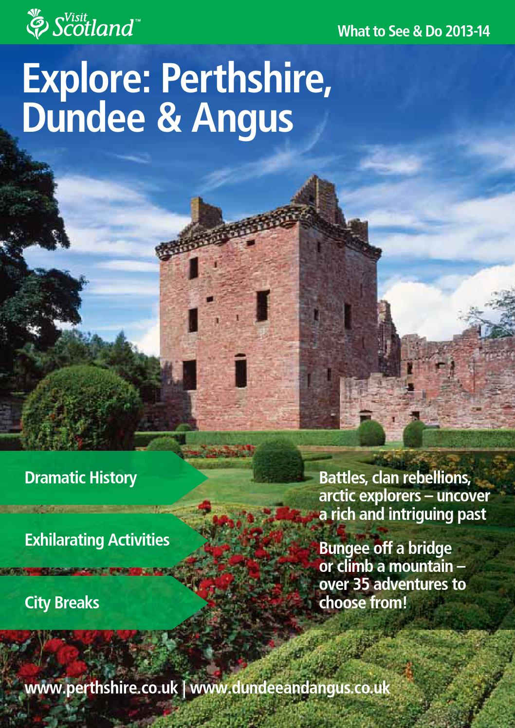 Explore: Perthshire, Dundee \u0026 Angus by Bookletia - issuu