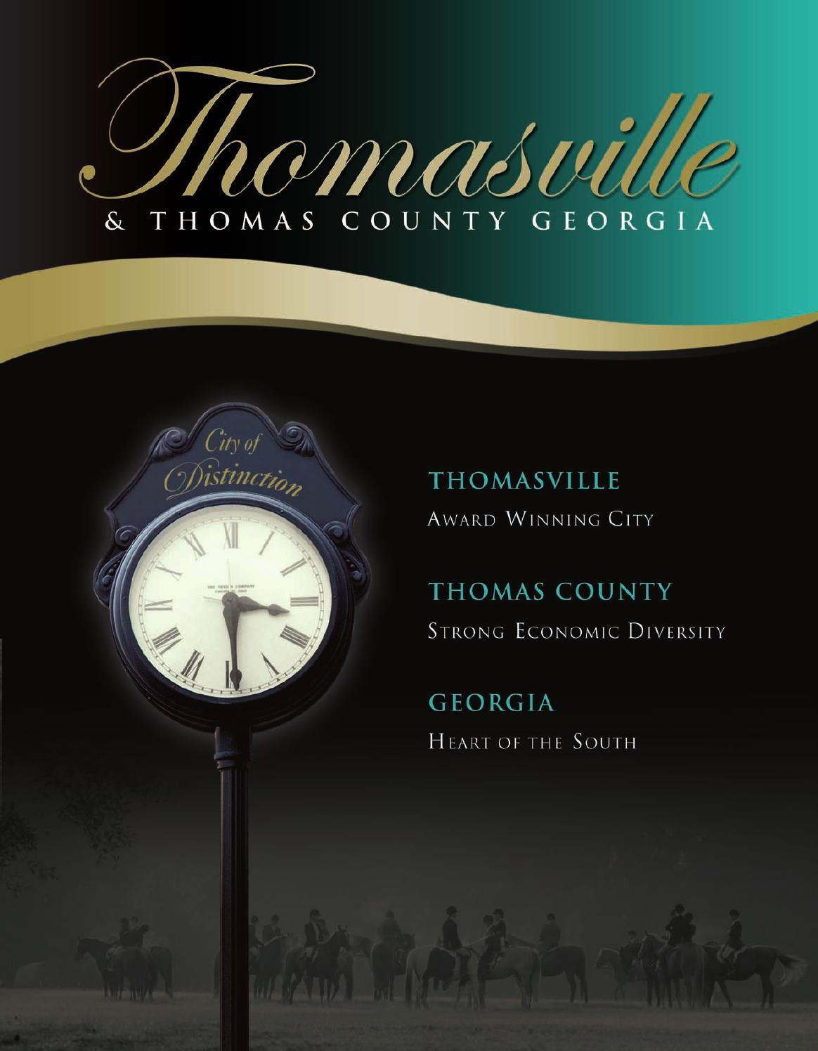 Thomasville GA Community Profile By Townsquare Publications LLC