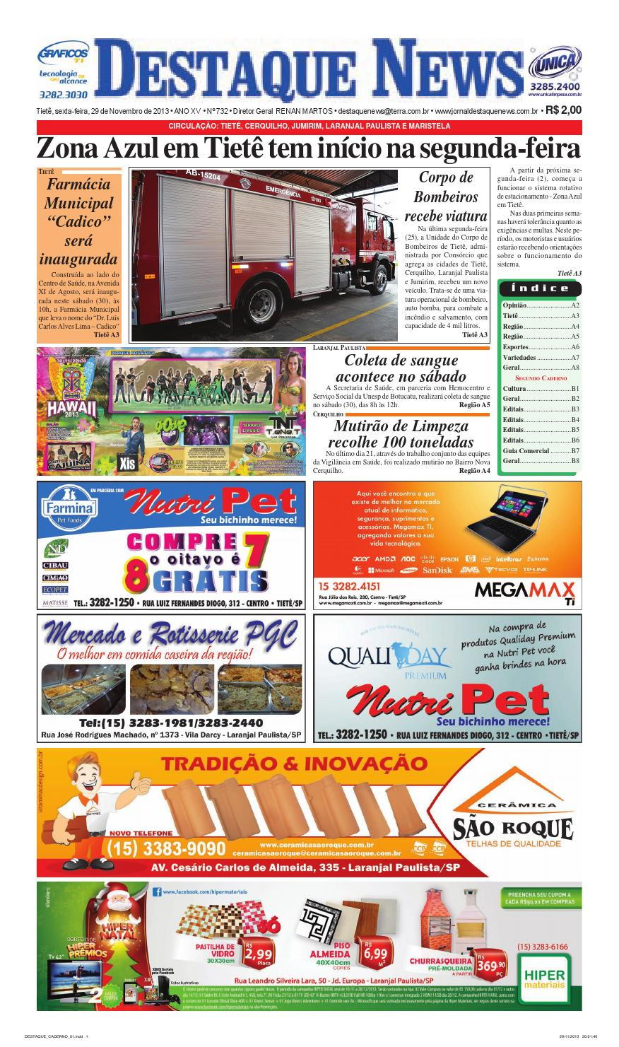 Jornal Destaque News - Edição 732 by Renan Martos - issuu 009c2178a6cf5