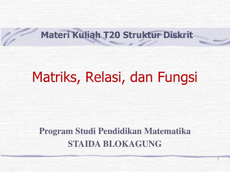 Relasi dan fungsi by Abdullah SMAN 1 Genteng Issuu