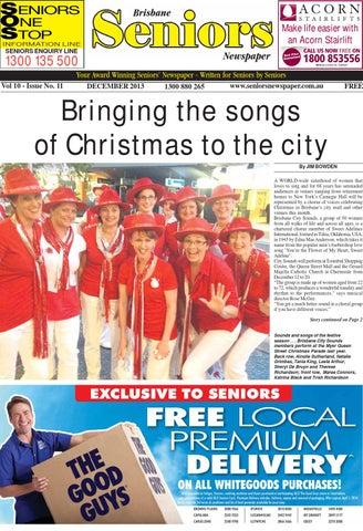 Brisbane seniors newspaper december 2013 by seniors - issuu