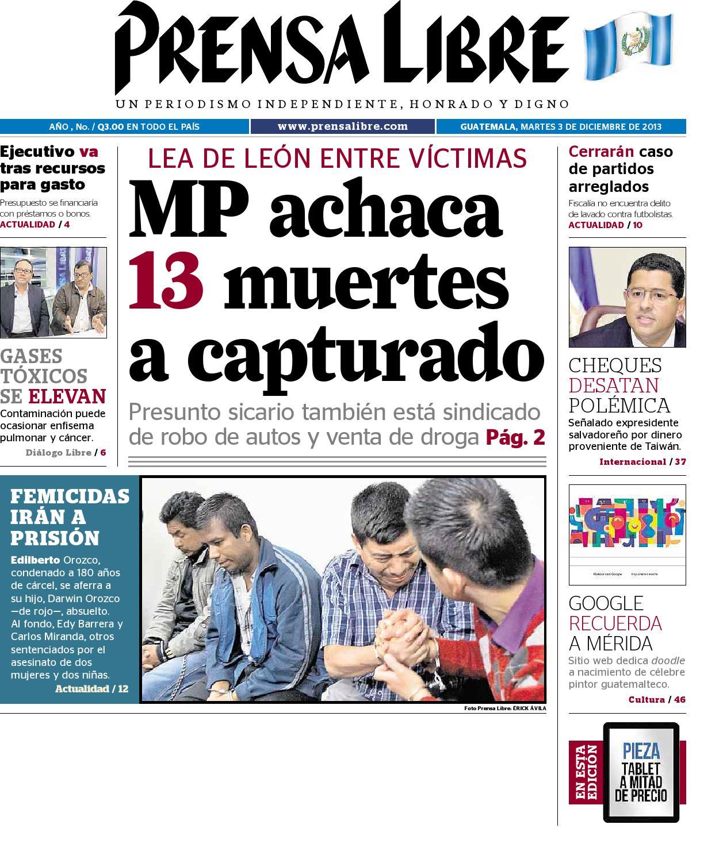 Plmt03122013 by Prensa Libre - issuu