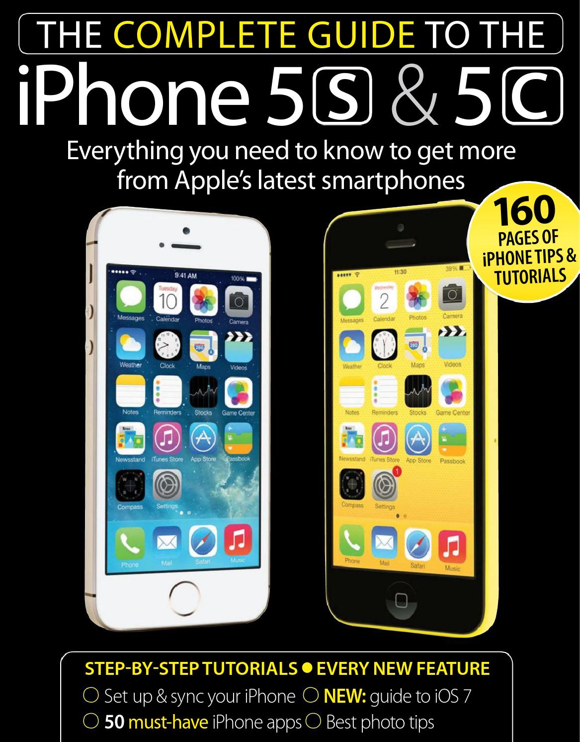 The complete guide to the iphone 5s %26 5c bak by Nara B ...