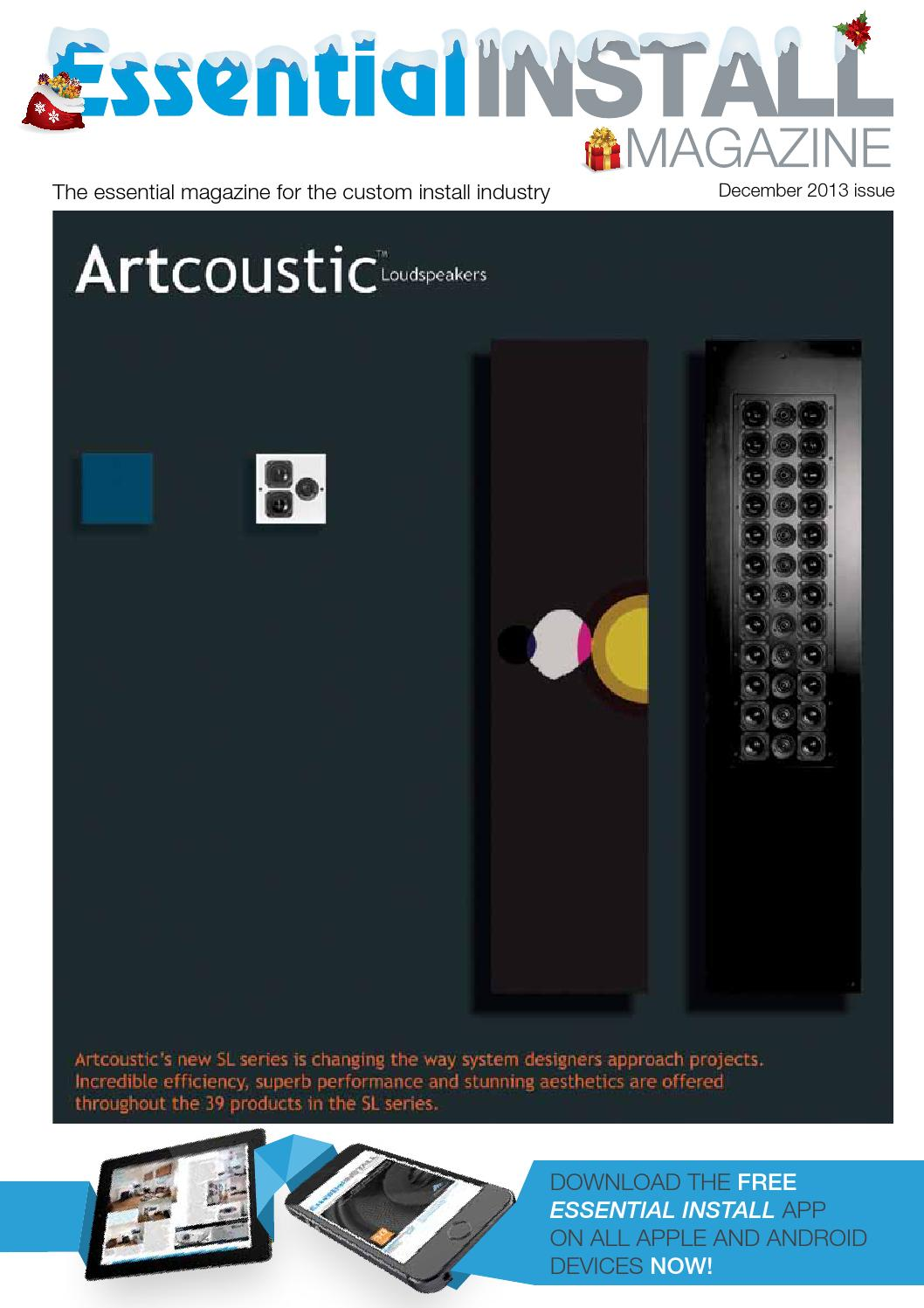 Essential Install December 2013 Issue By Issuu Tape Automated Bonding Tab For Driver Circuits Lcds Oleds And Pdps