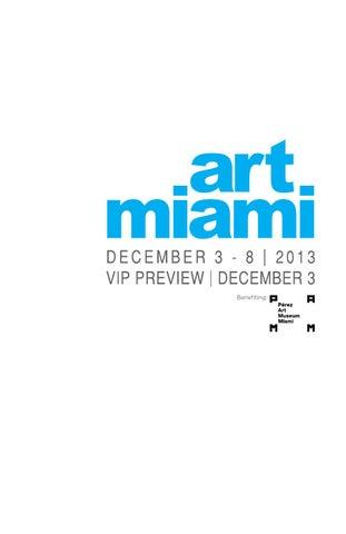Art Miami 2013 by Alexander Drury - issuu f55528224bc