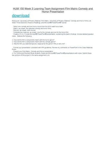 HUM 150 Phoenix Course/Uophelp