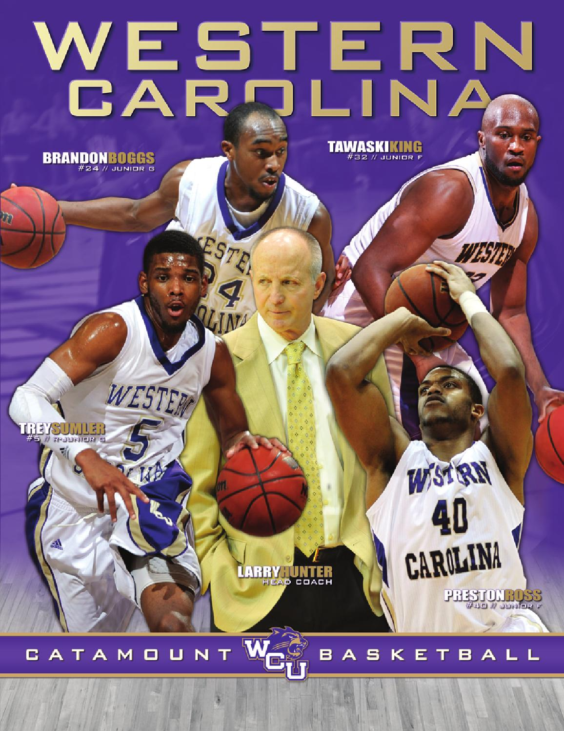 2012-13 Men s Basketball Yearbook by Western Carolina University Athletics  - issuu c889a7496