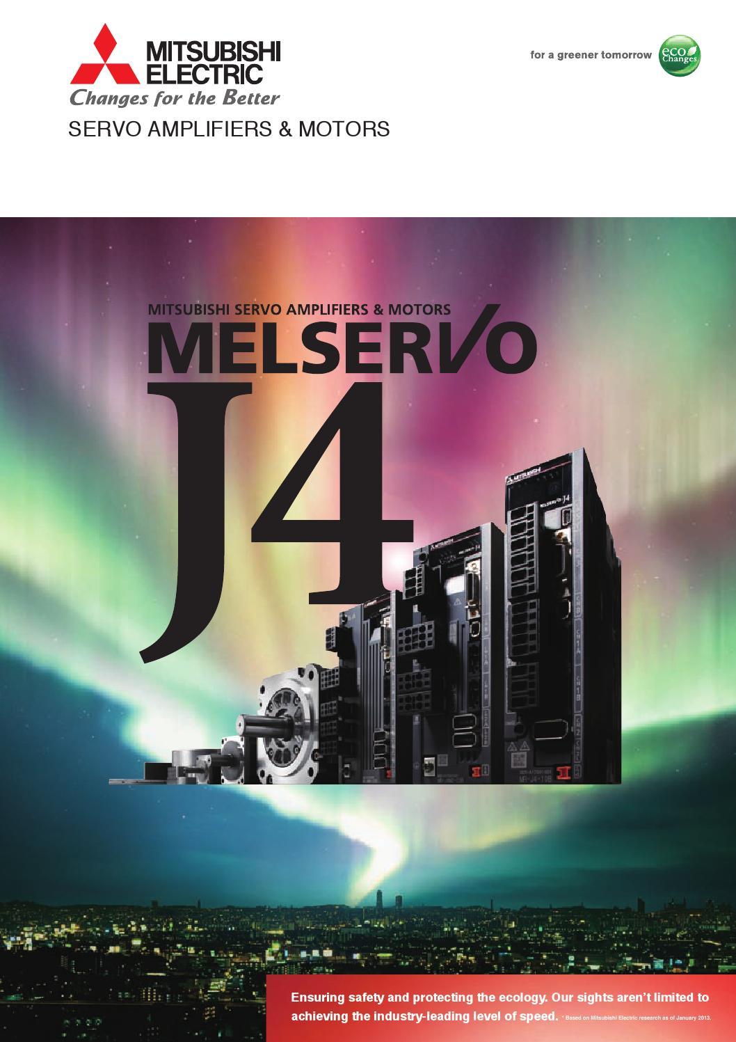 Mr j4 servo brochure